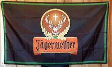 Jagermeister Flag 3x5 ft Indoor/Outdoor Banner Jager Liquor Sales bar man cave