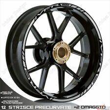 Trims Wheel Stickers Sport Honda VFR 750 800 1200 Silver