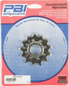 PBI - 453-13 -  Front Countershaft Sprocket, 13T - Made In USA
