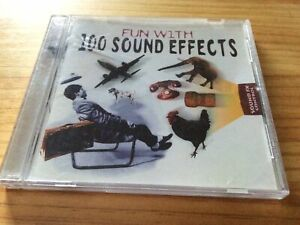 RARE! E2 MUSIC - FUN WITH 100 SOUND EFFECTS - AUDIO SAMPLE CD (1998)