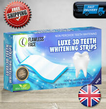 28 3D Professional Teeth Whitening Strips Safe White Tooth Bleaching - 14 Days ✅