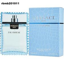 Versace Man Cologne Blue Perfume for Men Eau Fraiche New EDT Spray 3.4 oz 100 ml