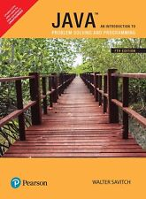 Java: An Introduction to Problem Solving and Programming, 7/e by Savitch