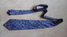 Hugo Boss Krawatte blau braun rot Muster