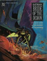 Batman Bride Of The Demon Graphic Novel Hardcover 1ST Print DC Comics 1990