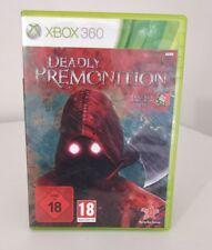 DEADLY PREMONITION THE DIRECTOR'S CUT XBOX 360 OTTIMO ITALIANO COMPLETO PAL