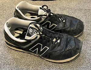 New Balance 574 Men's Trainers Size 13.5 - Black with White