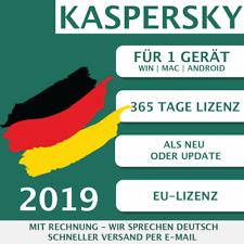 Kaspersky Internet Security 2019 DE 1 Gerät, 1 PC Multi-Device KEY ESD