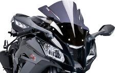 PUIG RACING WINDSCREEN BLACK GSXR 600/750/1000 01-02/00-02