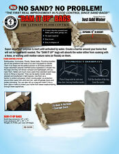 5X Sandless Sand Bags - Flood Prevention and Protection - Flood Defence System