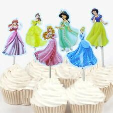 24 Pcs  Disney Princess Snow White Cinderala CUPCAKE CAKE TOPPERS Party