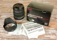 En Caja Nikon Af-s HSM digital Fit Sigma 18 50 mm DC OS Zoom Estabilizador Óptico