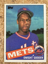 1985 TOPPS Baseball DWIGHT GOODEN ROOKIE CARD #620 New York METS RC NM+