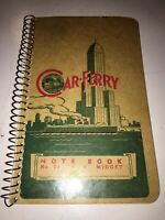 Schmidtman Company Car Ferry Manitowoc Wis Note Pad Note Book