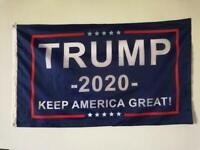 "Trump 2020 Keep America Great President MAGA Make America Great 3x5"" Flag US"