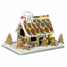 Avanti 10 Piece Gingerbread House including Board