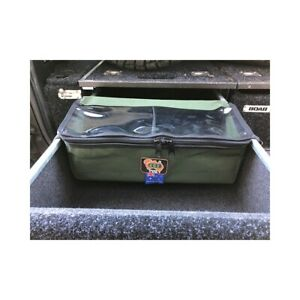 AOS 4x4 Cargo Drawer Bag - Small with Clear Top - Black Canvas - Australian Made