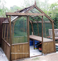 Traditional Dutch Timber Greenhouse 10ft x 8ft - inc Delivery to most postcodes