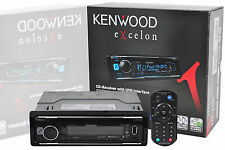 KENWOOD EXCELON KDC-X300 CAR IN DASH CD RECEIVER WITH USB AUX BLUETOOTH PANDORA