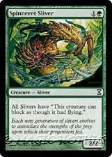 SPINNERET SLIVER Time Spiral MTG Green Creature — Sliver Com