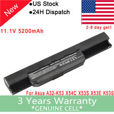 Battery for ASUS A41-K53 A32-K53 K53E K53S K53T K53U X54C X54H X54L A53E A43 US