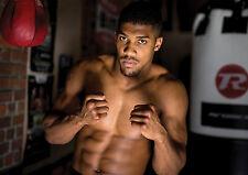 Cartel de peso pesado campeón boxeador Anthony Joshua Cartel, GRATUITO P + P, elija su tamaño