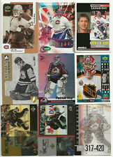 Patrick Roy lot of 9 different Hockey cards