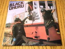 "BLACK UHURU - THE GREAT TRAIN ROBBERY  7"" VINYL PS"