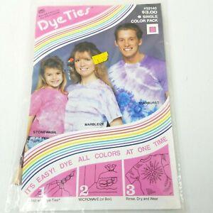 Vintage Banar Designs Distlefink String Stonewash MYO Dye Ties Shirts NOS