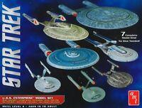 AMT AMT954 1:2500 Star Trek-USS Enterprise Box Set-Cadet Series Model Kit