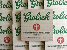 10 x Grolsch Coasters - Beer Mats - Beer Coasters