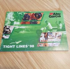 ABU Tight Lines 1998 Fishing Catalogue Very Good Condition