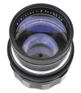 Carl Zeiss Jena 10.5cm f2 S-Biotar T* Canon EOS mount   #2799784