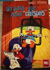 """Un pato que echa """"chipas""""-WALT DISNEY Comics No.66, 1975"""