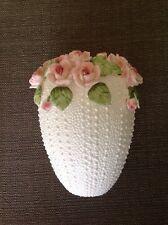 Jolie Fleurs Bone China Seymour Mann Vase Pink Roses Vintage