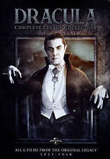 Dracula: The Legacy Collection (DVD, 2014, 4-Disc Set) All Movies - New & Sealed