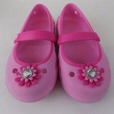 Crocs-Toddler-Girl-Carnation-Magenta-Keeley-Petal-Chart Size C 9 AL2114