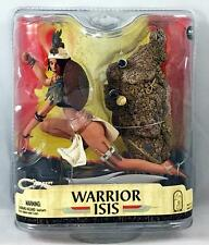 WARRIOR ISIS Action Figure MCFARLANE TOYS Age of Pharaohs SEALED Spawn Series 33