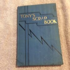 TONY'S SCRAPBOOK BY WONS