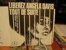 """the black panther-liberez angela davis tout de suite""""lp12""""or:ldx74460 de 1971"""