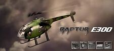 Thunder Tiger RC Helicopter Raptor E300MD ARF 4725-A13