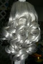 """NWT 14"""" Long CLIP IN Ponytail CHOICE OF GREY COLORS Free Ship"""