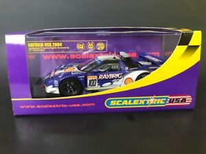 Scalextric C2720 RAYBRIG NSX #100 1:32 Scale Slot Car w/box & tires
