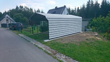 mobiler STAHL Carport 3,7m x 5,8m bis 6,5 m x 2,7m Stahlport Car Port XL
