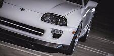 "JDM 93-97 Toyota Supra 2JZ MK4 Rear WP ""Carbon Fiber"" Front Lip"