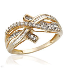 Irresistible Brand New Ring With Genuine Diamonds !!!