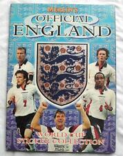 MERLIN'S OFFICIAL ENGLAND WORLD CUP STICKER COLLECTION 1998 PART COMPL 44 of 307