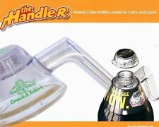 Lot of 12 -The Handler Helper  Attaches to 2-Liter Bottle to help Carry and Pour