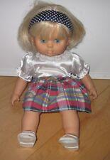 "Kiddy Love Baby Doll *Cute* 18"" Blond Hair Blue Eyes"
