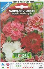 GAROFANO CINESE - AIUOLE BORDURE GIARDINI ROCCIOSI-FLORAL - BUSTA SEMENTI
